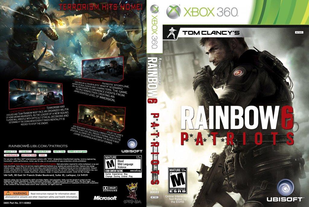 Tom Clancy's Rainbow Six: Patriots Windows, XONE, PS4, VITA