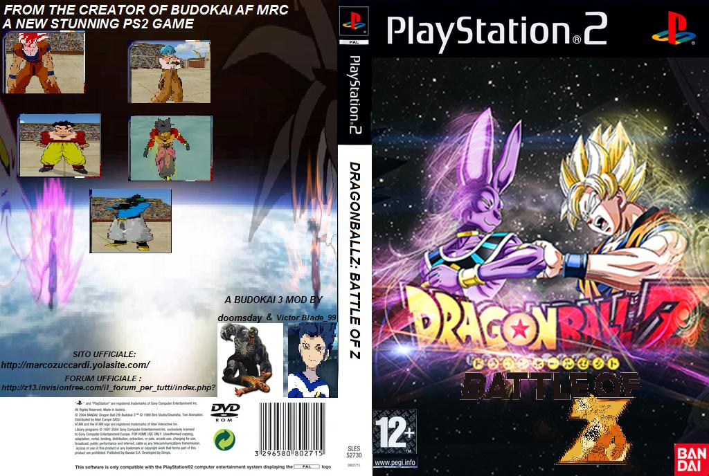 DRAGONBALLZ : BATTLE OF Z PS2 game - Mod DB