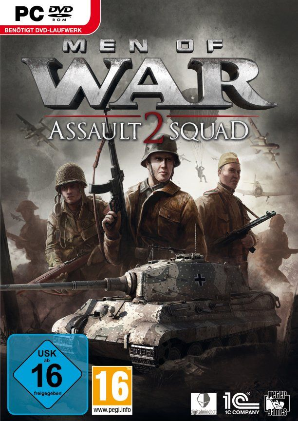 [R.G. Mechanics] Men of War - Assault Squad 2