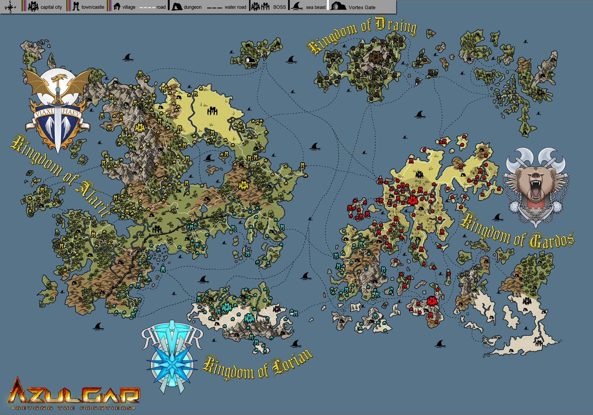 World map image azulgar beyond the frontiers mod db add media report rss world map view original gumiabroncs Image collections