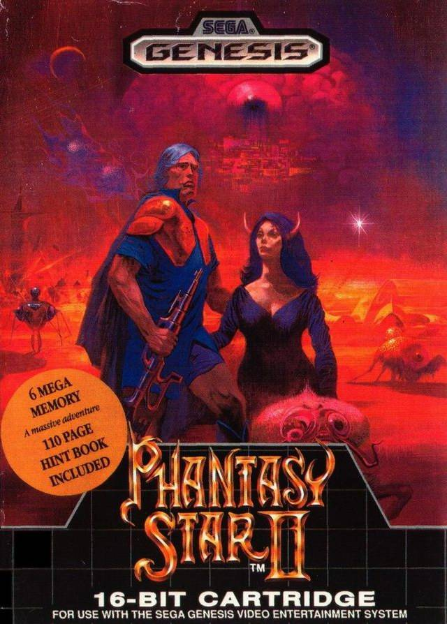 phantasy star genesis rom