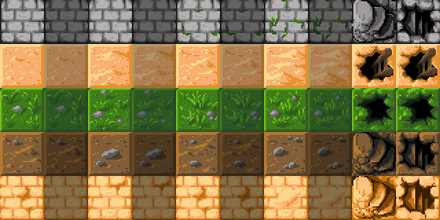 Tile Themes Sprite Sheet Image Chesslike Adventures In