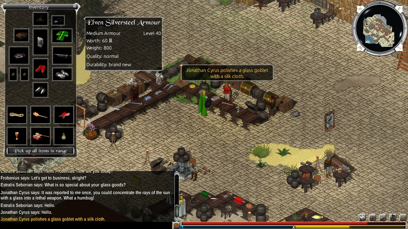 Illarion - An open source online roleplaying game Windows, Mac