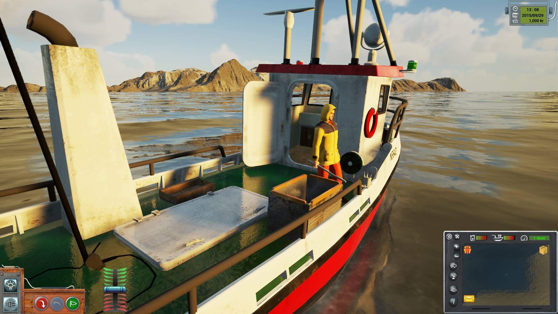Wheelhouse image fishing barents sea mod db for Fishing boat games