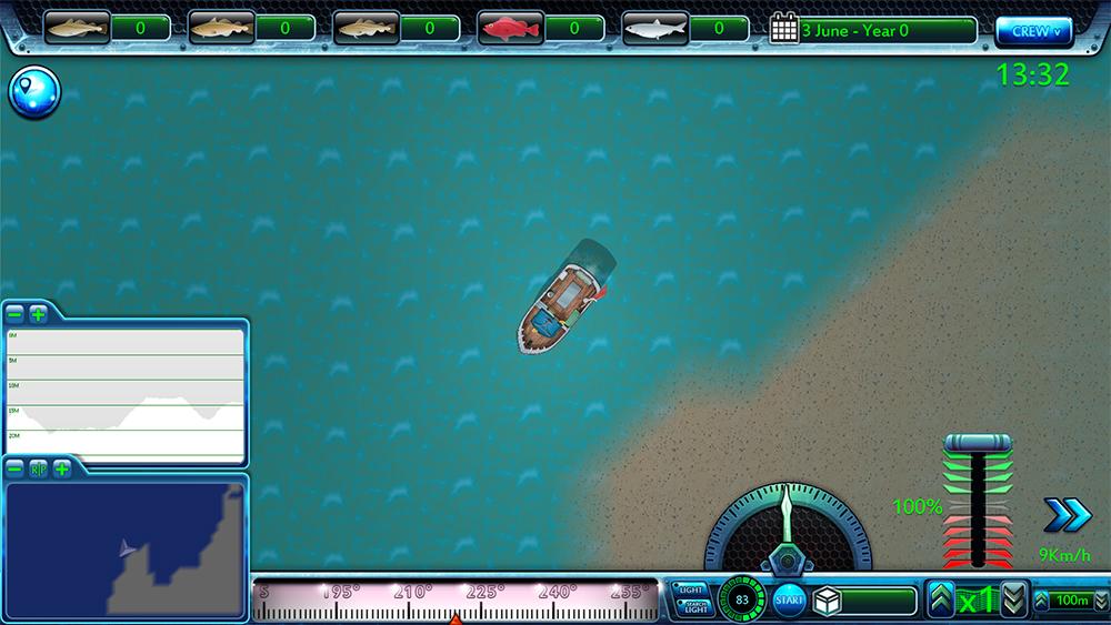 Screenshots image fishing barents sea mod db for Sea fishing games