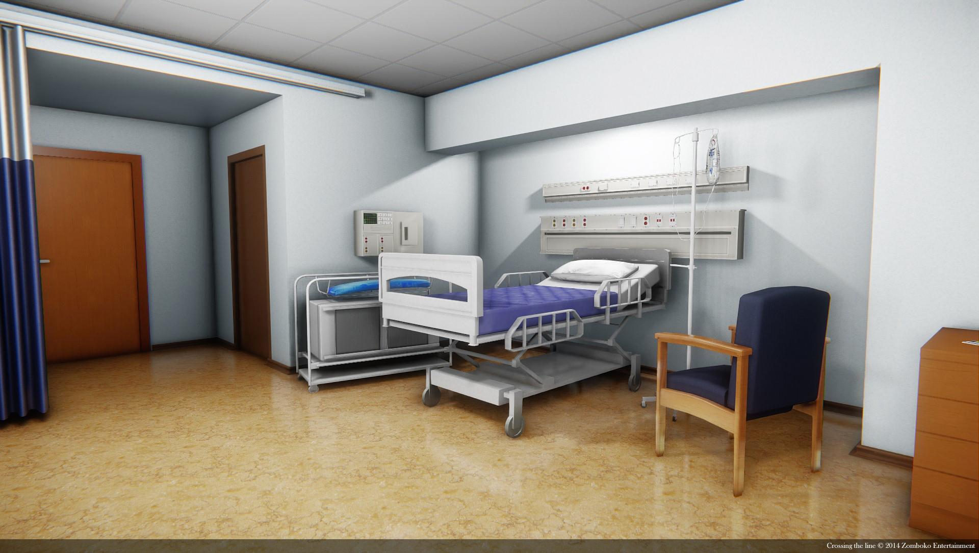 Hospital room image - Crossing the line - Mod DB