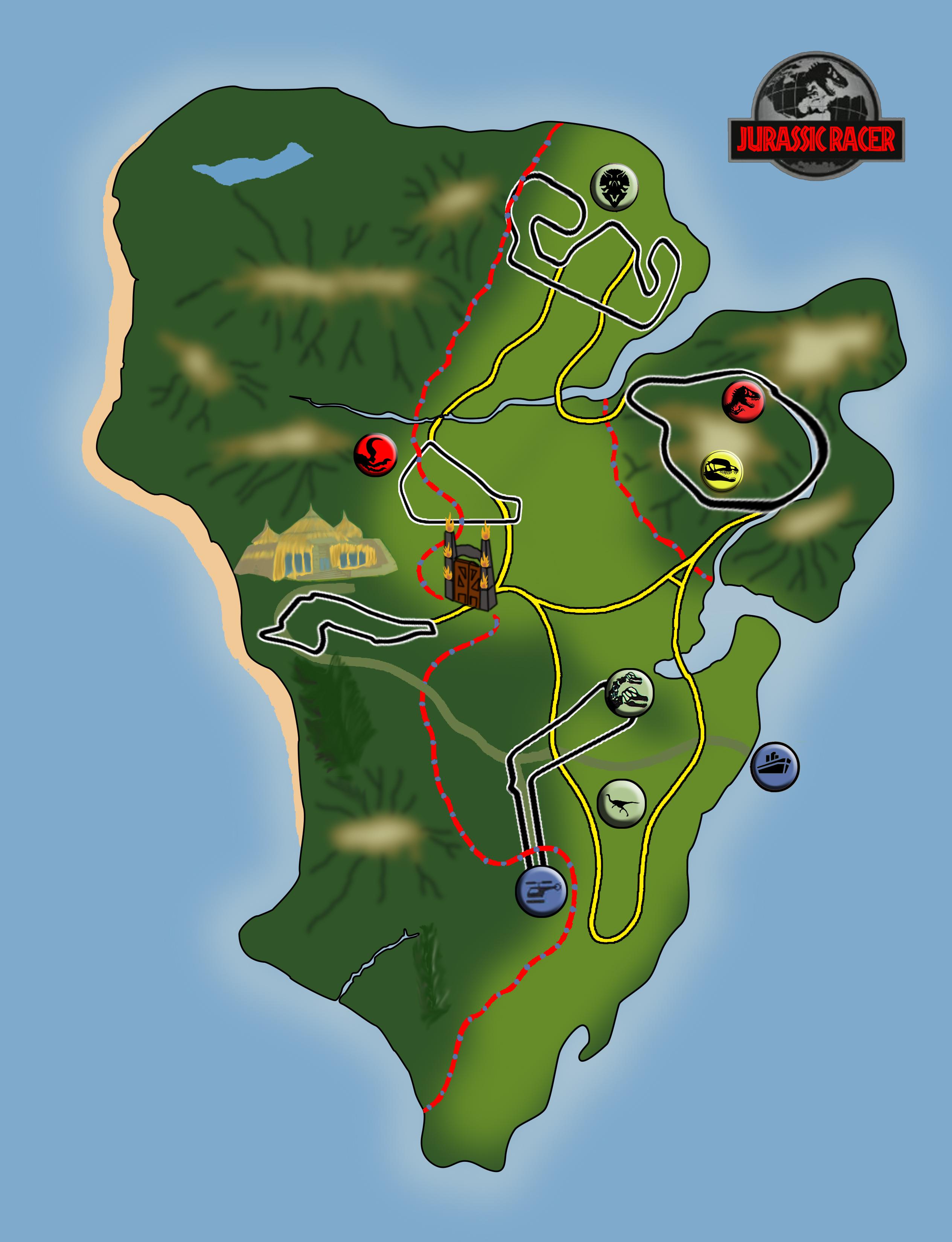 Jurassic Park Map image - Mod DB