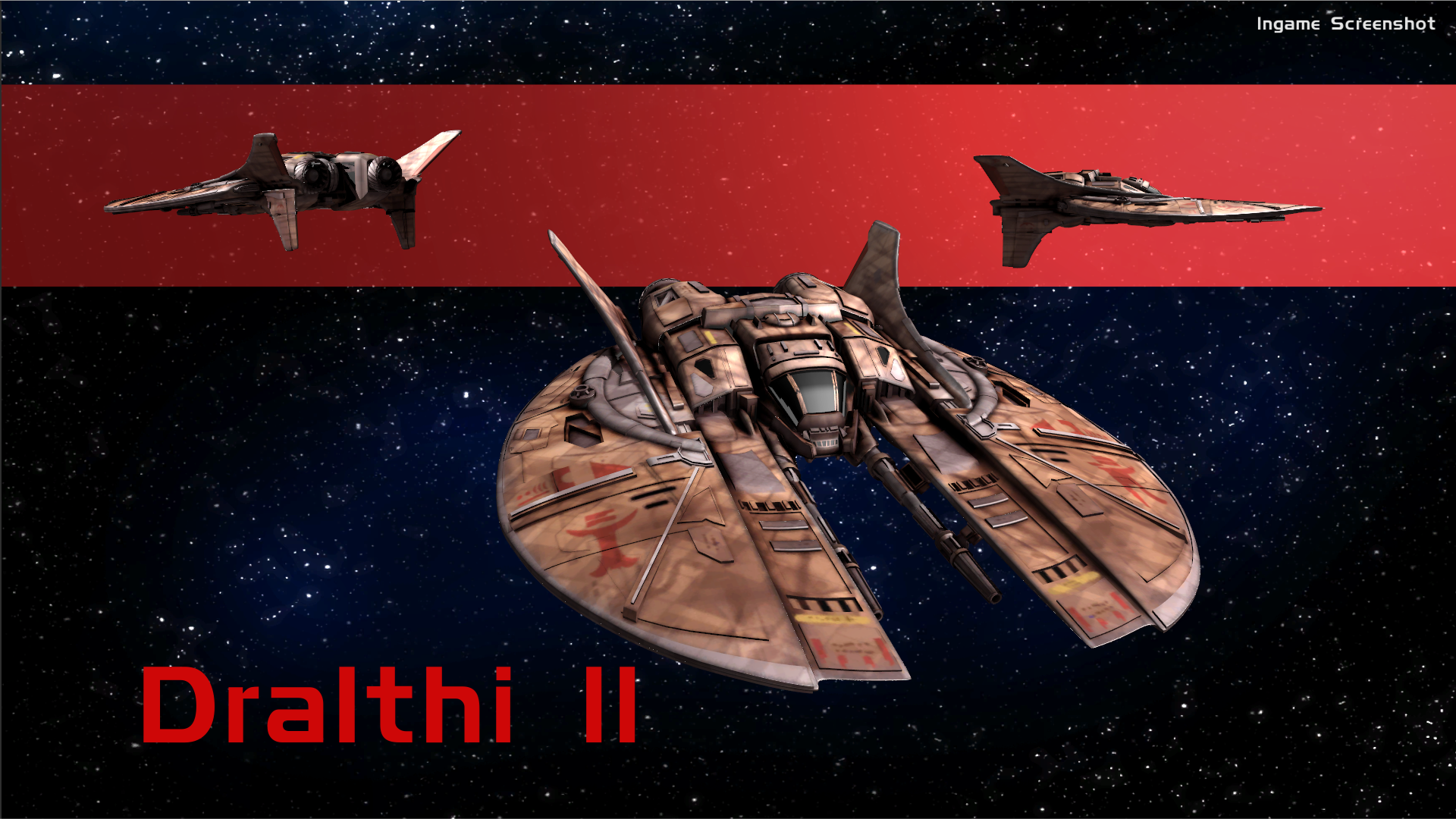 Dralthi mkii image wing commander flat universe mod db for Wing commander