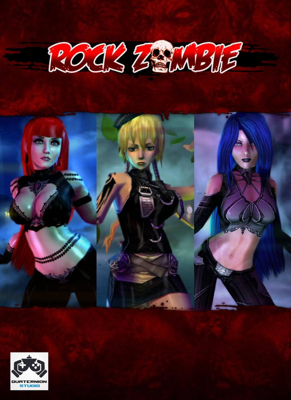 Рок зомби 3d 13 фотография
