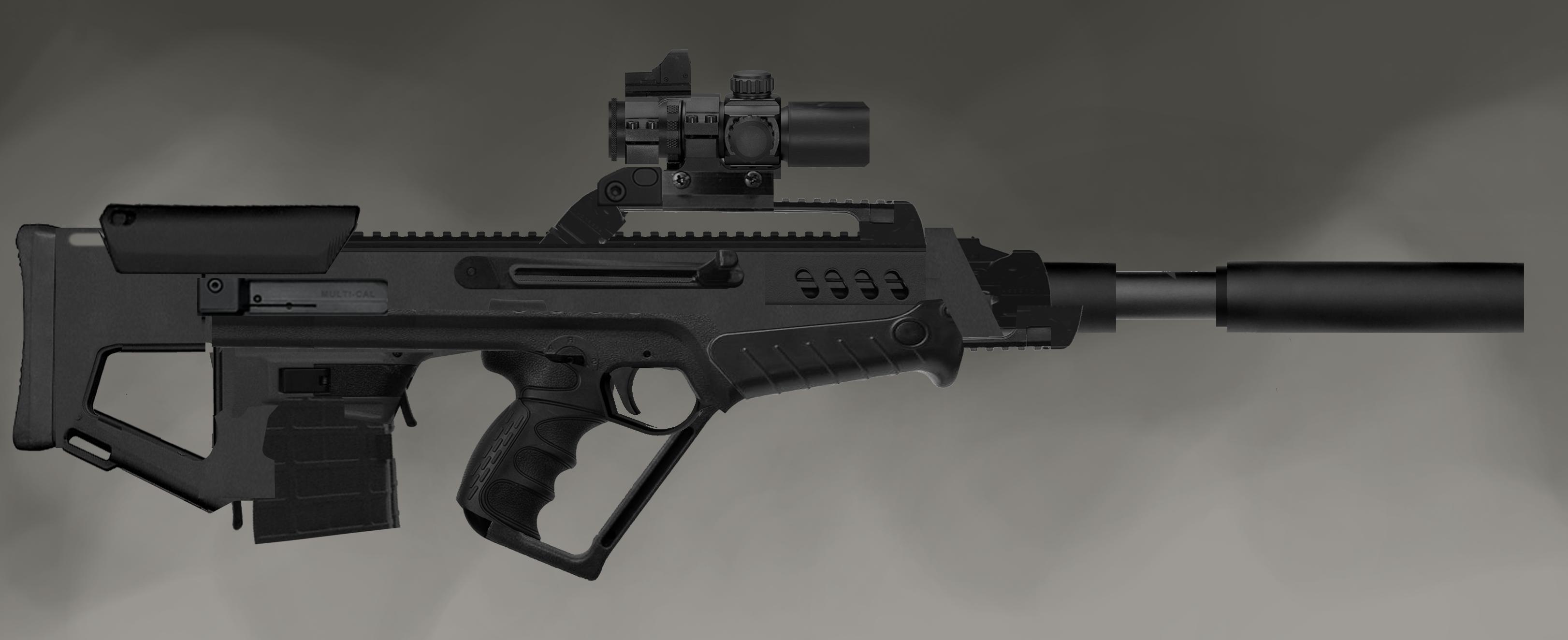 sniper rifle concept image - orbital assault