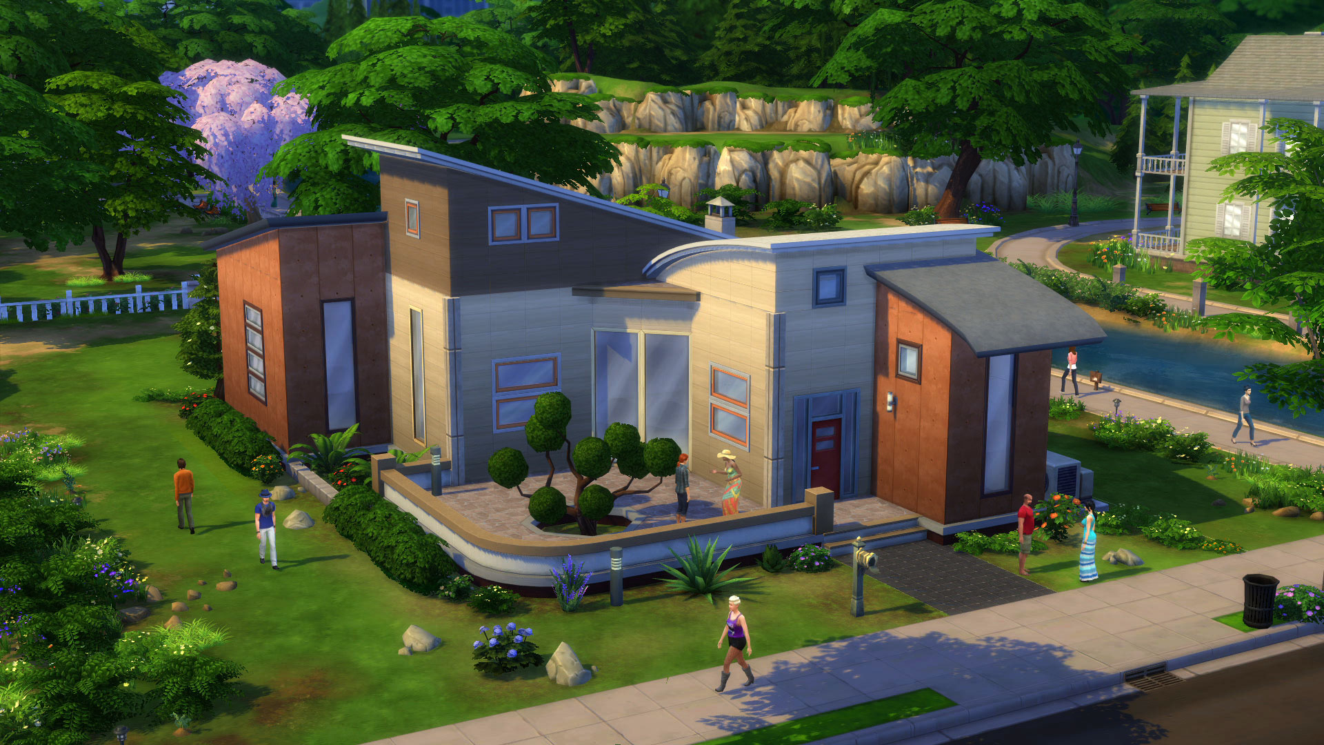 The Sims 4 Build Mode Modern Home Image Mod DB