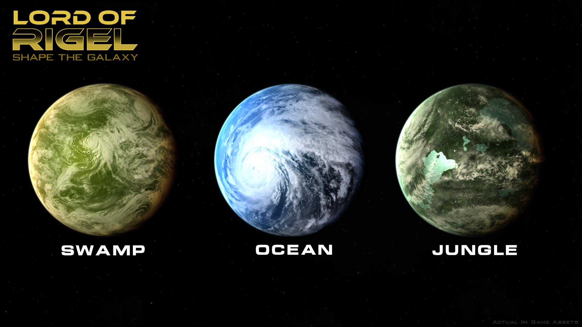 Habitable Planets Set 1 image - Lord of Rigel - Mod DB