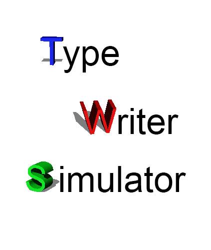 Typewriter Simulator