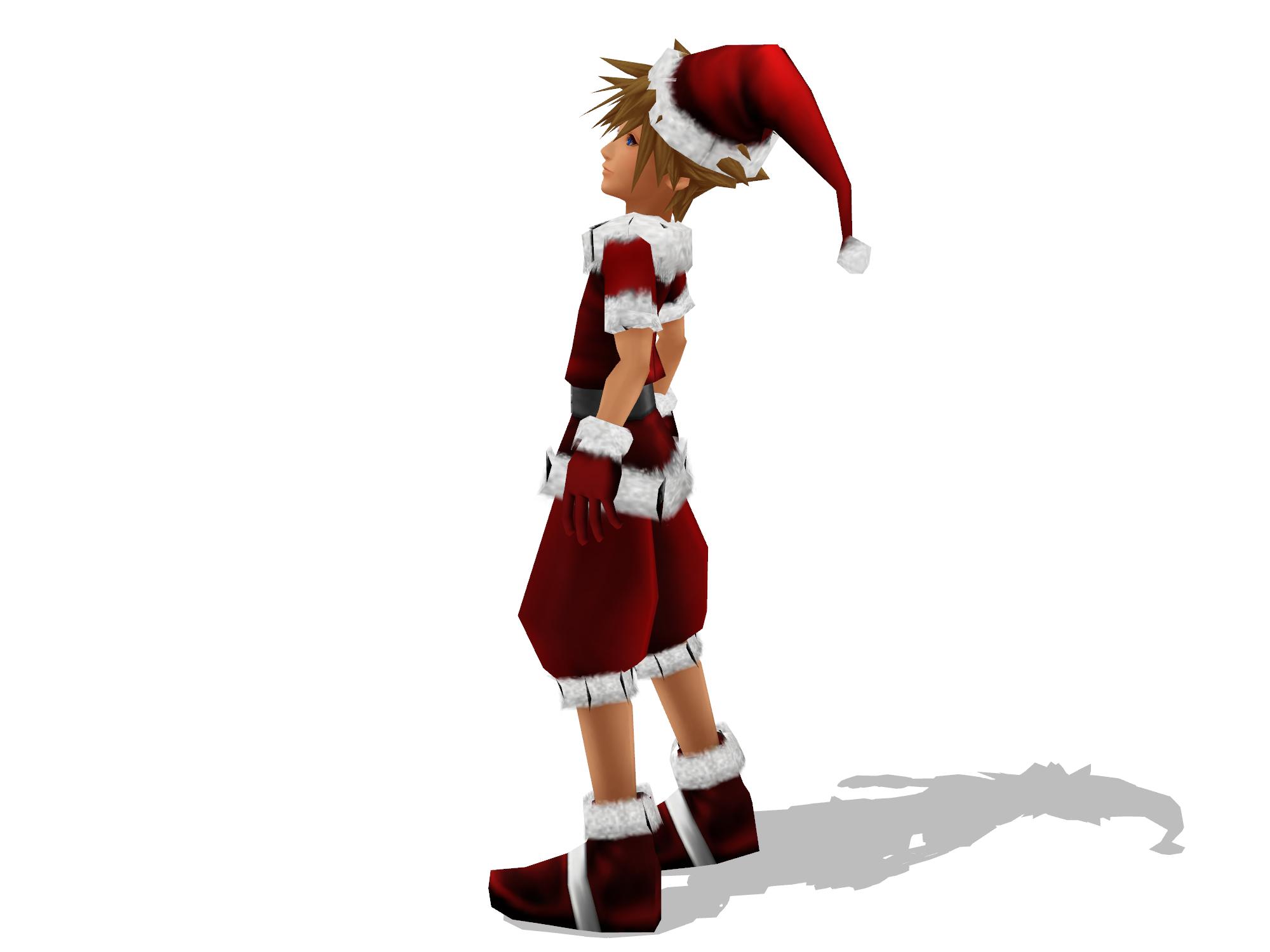 Kingdom Hearts Christmas.Merry Early Christmas From Sora Image Kingdom Hearts Fan