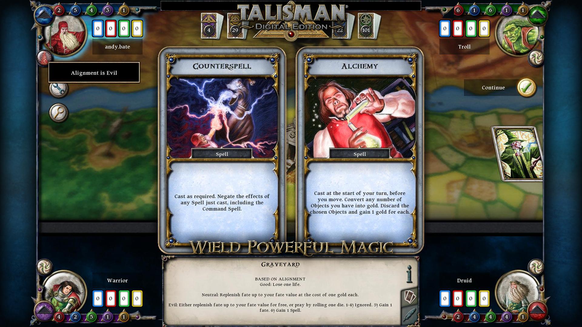 Screenshot image - Talisman: Digital Edition - Mod DB