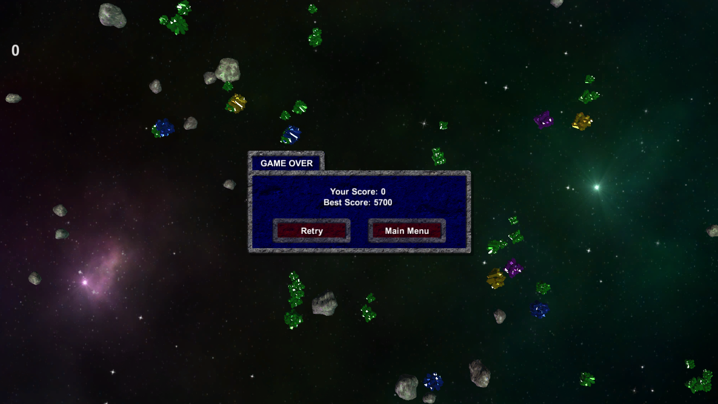 Asteroid Miner Game Over Ui Image Imperial Nostalgia Mod Db