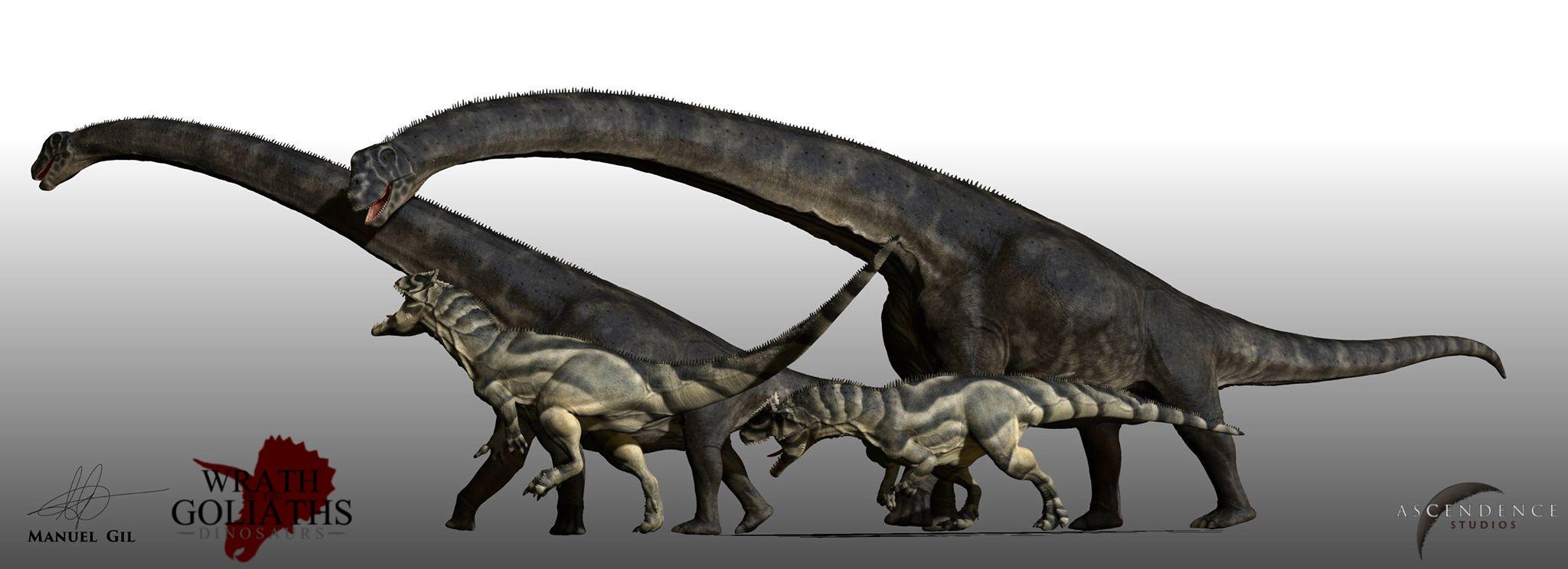 Saurophaganax vs  Saur...