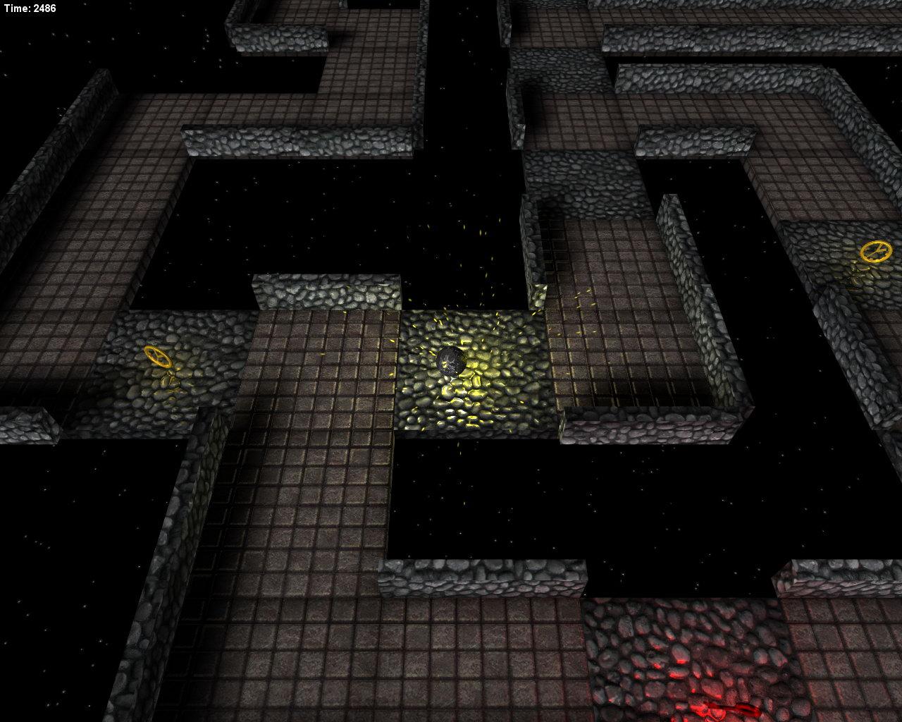 Metal Ball Space Maze