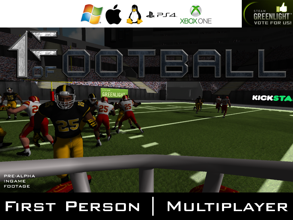 Oculus Rift Games >> 1 of 11 Football Windows, Mac, Linux, VR, XONE, PS4 game - Mod DB