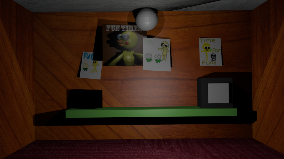 how to make a lego fnaf office
