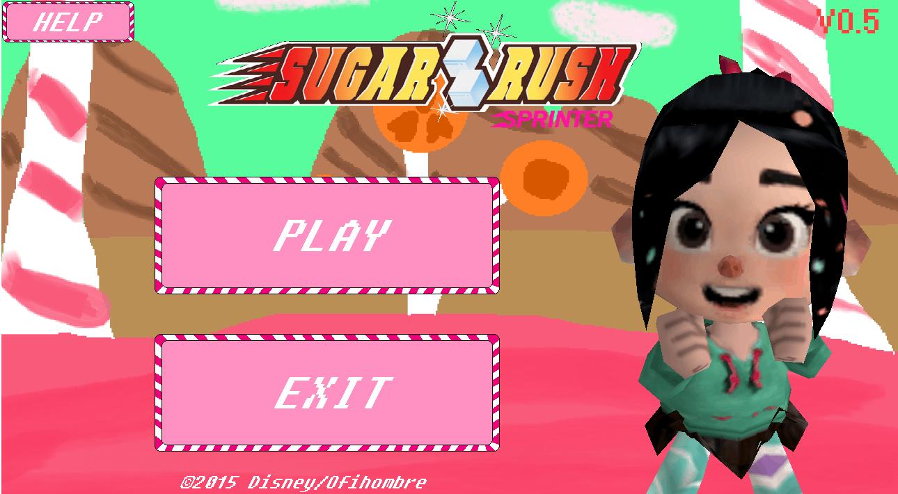 sugar rush sprinter menu image...