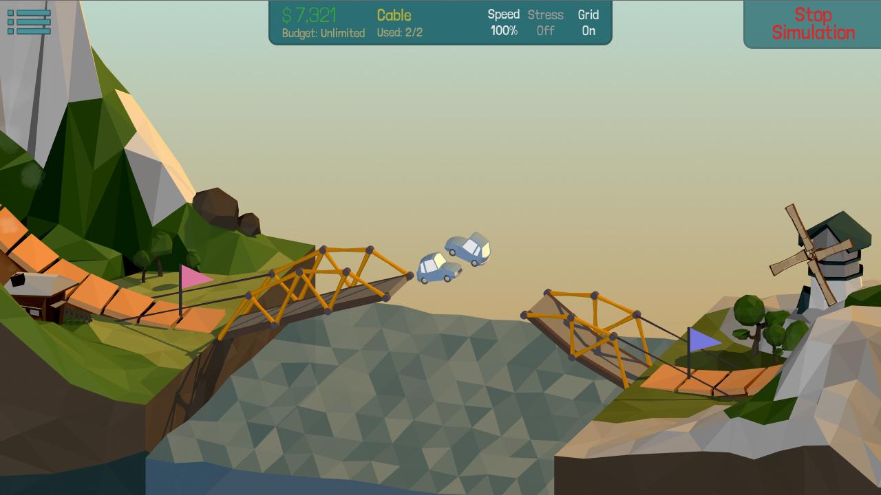 Bridge Building Game Ios That Was Popular