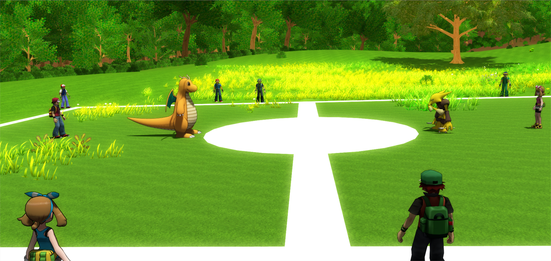 Pok mon mmo 3d windows mac linux game mod db - Pokemon 3d download ...