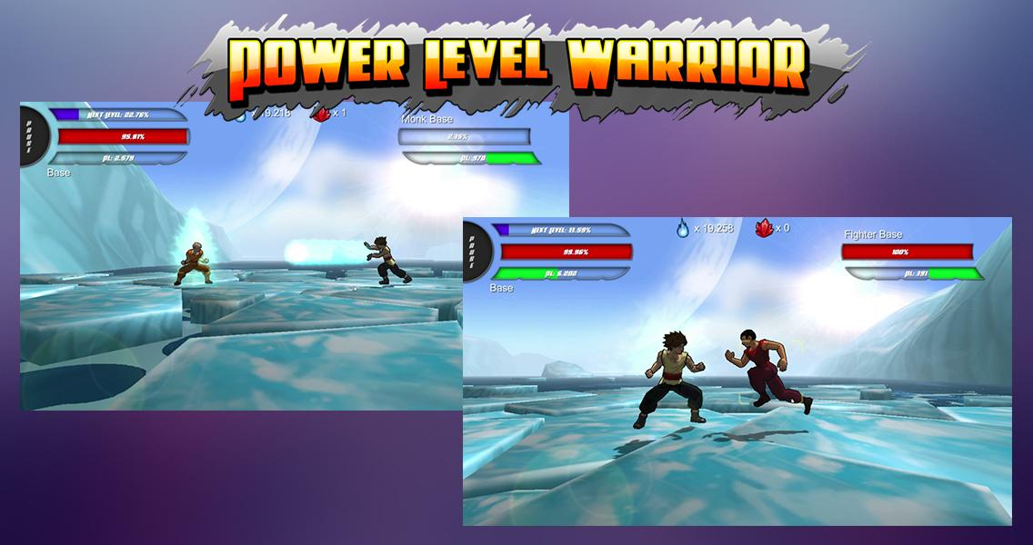 Power Level Warrior Android game - Mod DB