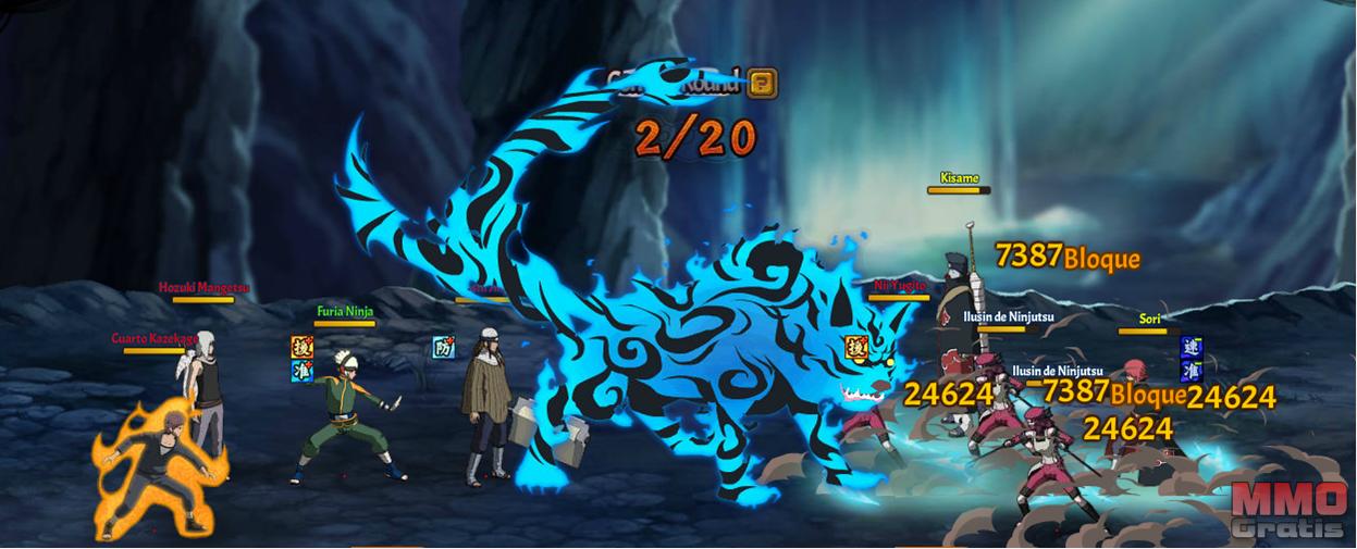 Image 3 Furia Ninja Naruto Rpg Online Juego Mod Db