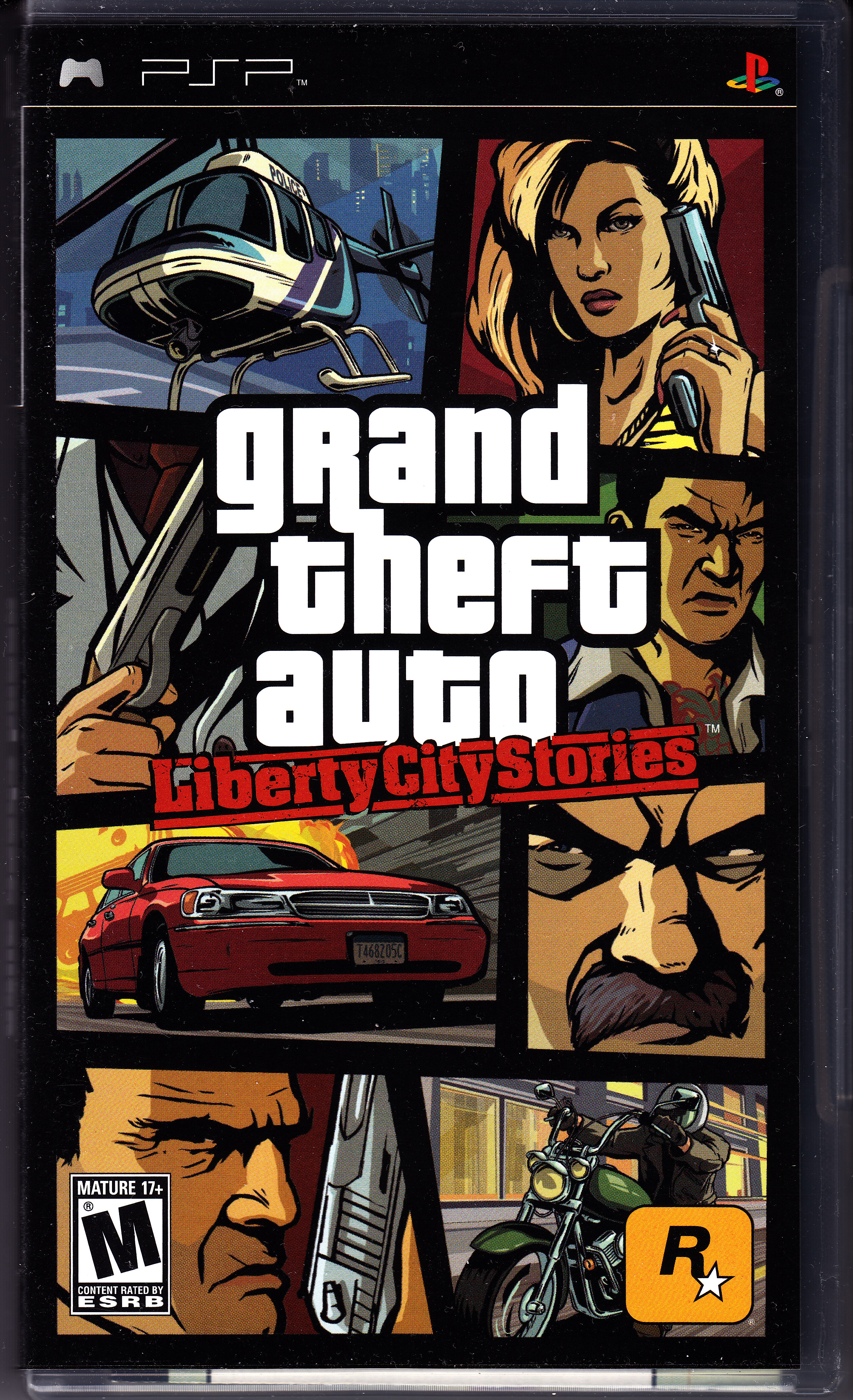 Grand Theft Auto - Liberty City Stories (USA) ISO PSP ISOs
