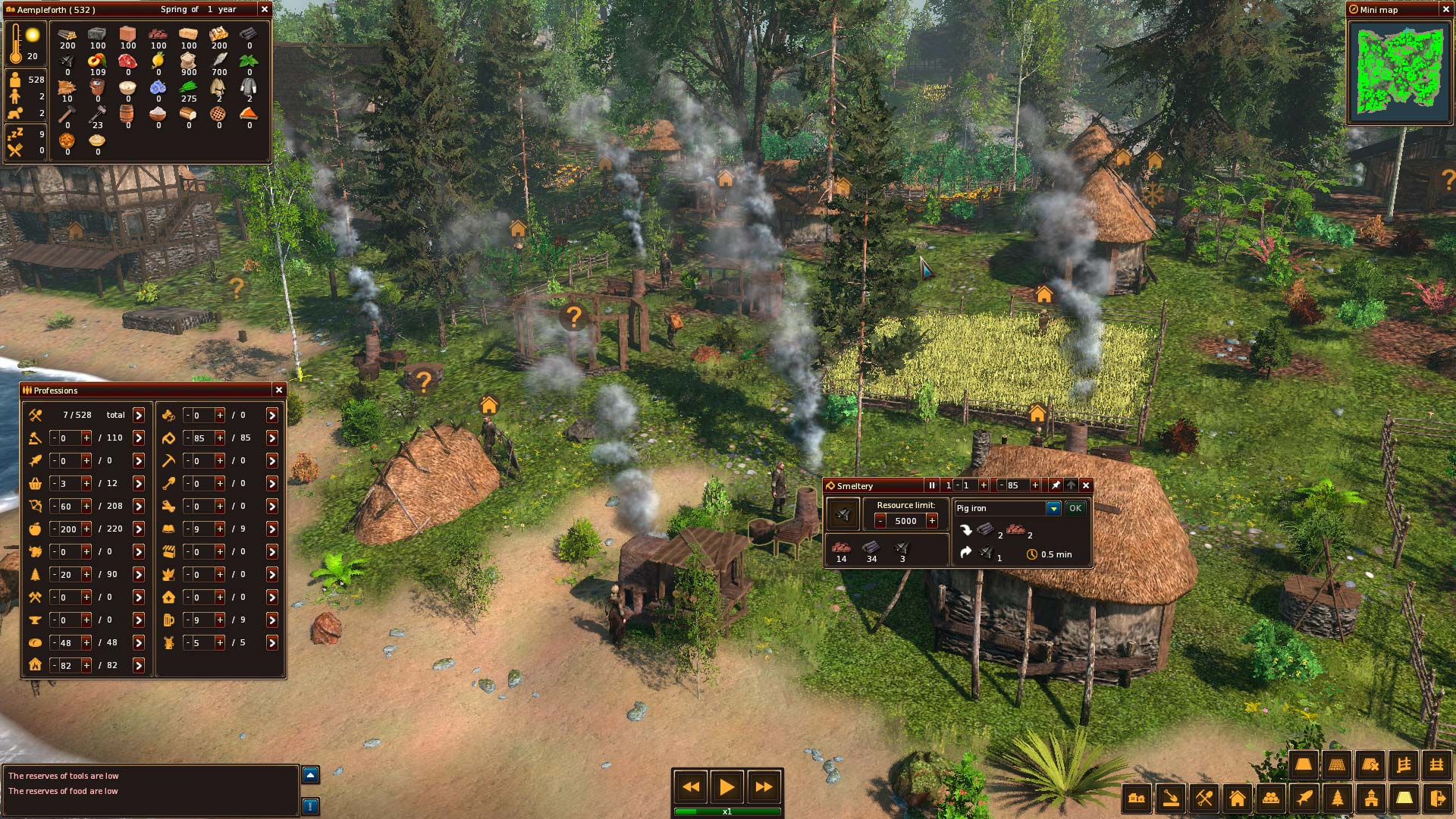 Smeltery Image Life Is Feudal Forest Village Mod Db