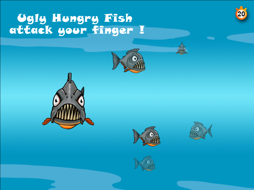 Ugly hungry fish ios ipad game mod db for Hungry fish game