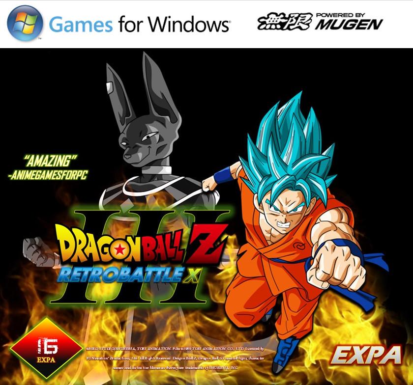 dragon ball z retro battle x 3 windows mac game mod db. Black Bedroom Furniture Sets. Home Design Ideas