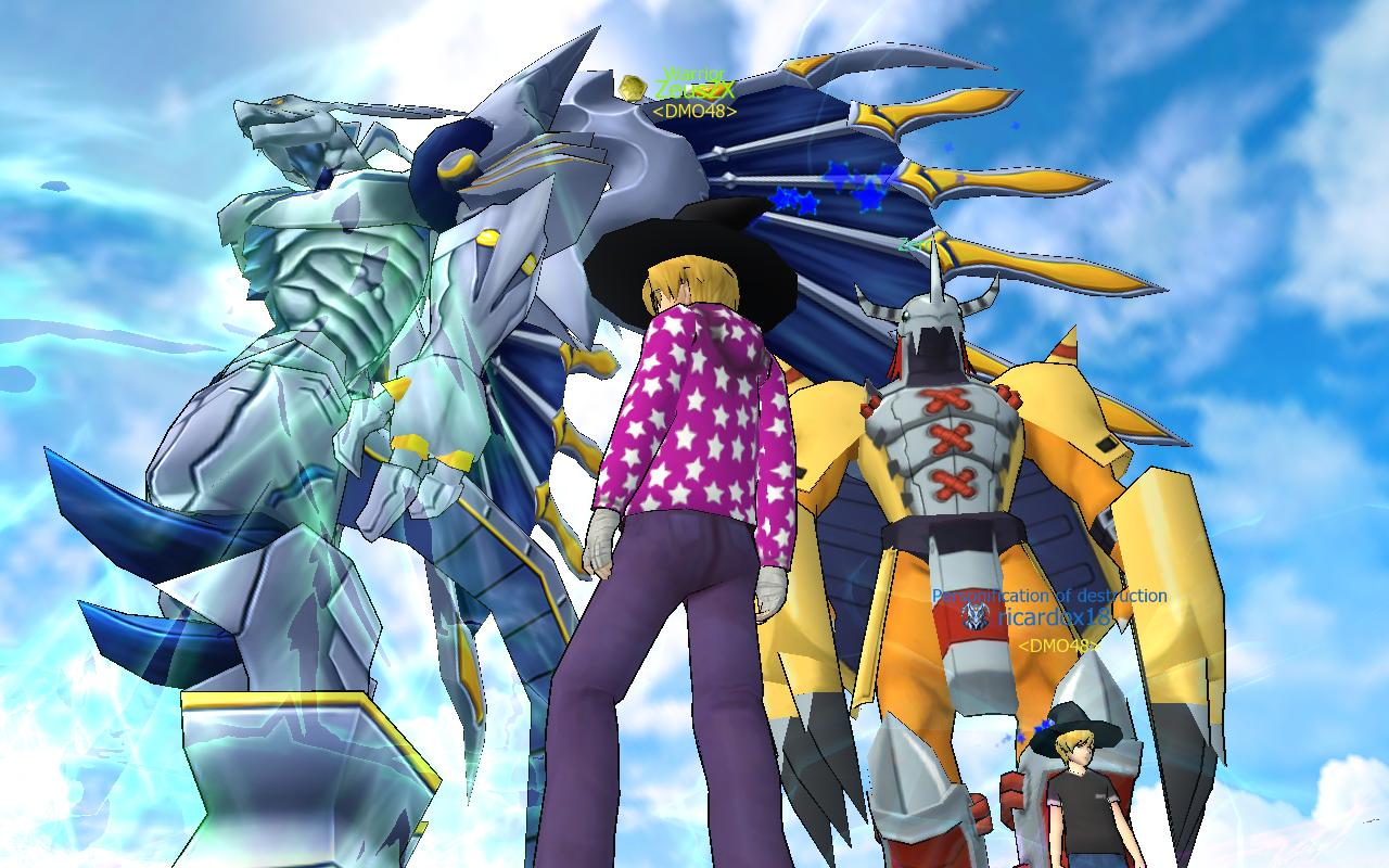 digimon masters online windows game