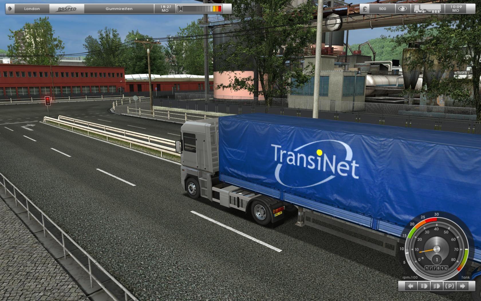 image 6 uk truck simulator mod db. Black Bedroom Furniture Sets. Home Design Ideas