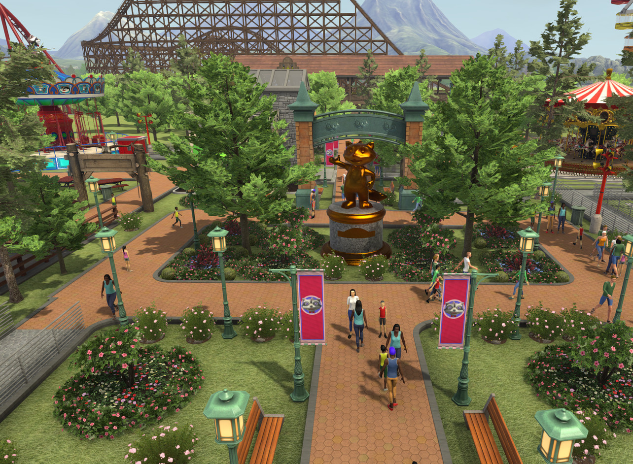 RollerCoaster Tycoon World Windows game