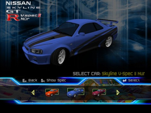 List syndicate street racing car SRS: Street