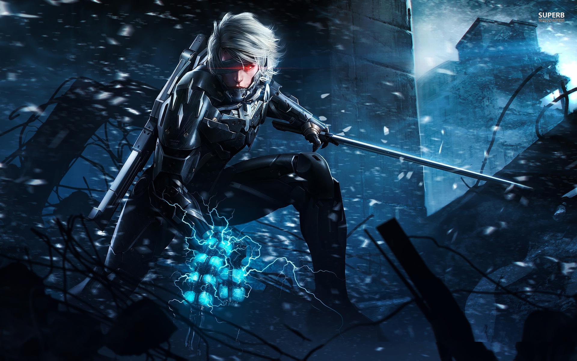42 Hd Raiden Wallpaper On Wallpapersafari: Metal Gear Rising: Revengeance Windows, Mac, Linux, X360