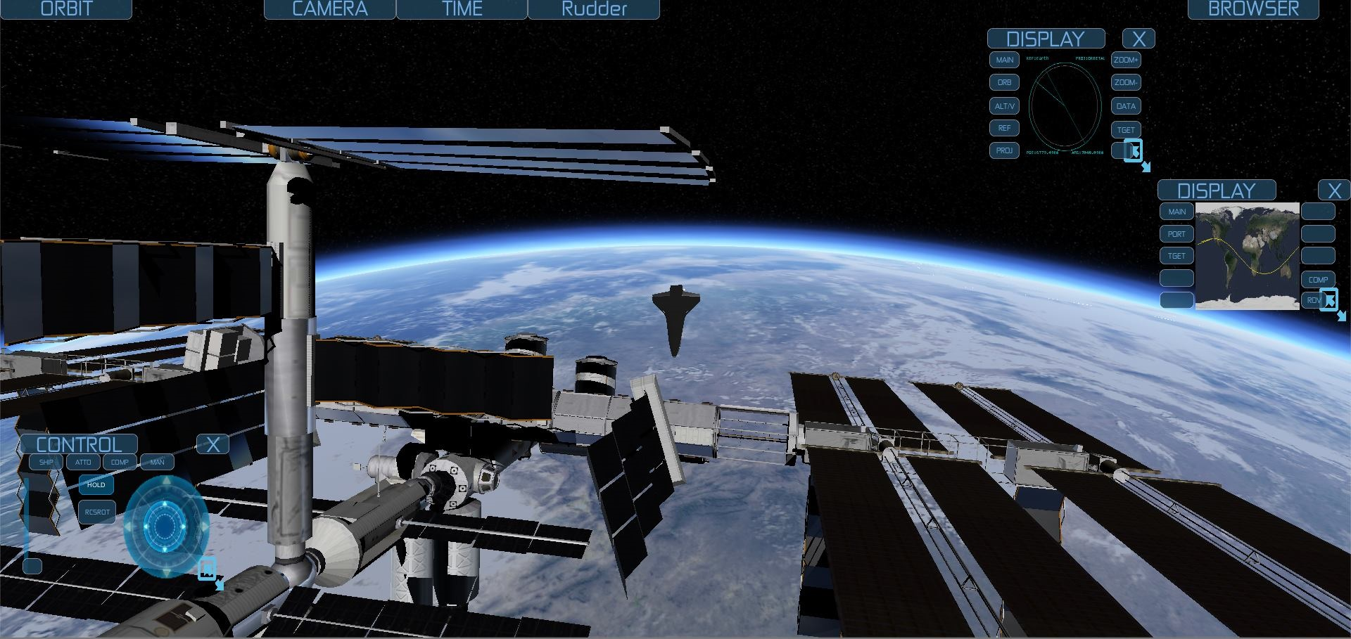 space shuttle simulator free online game - photo #16