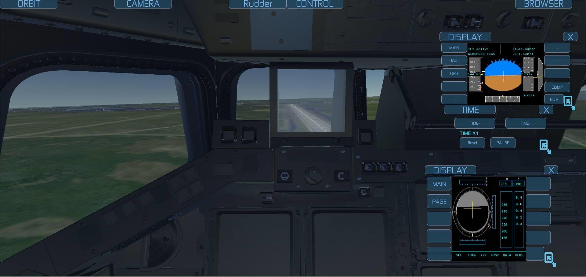 land the space shuttle simulator - photo #47