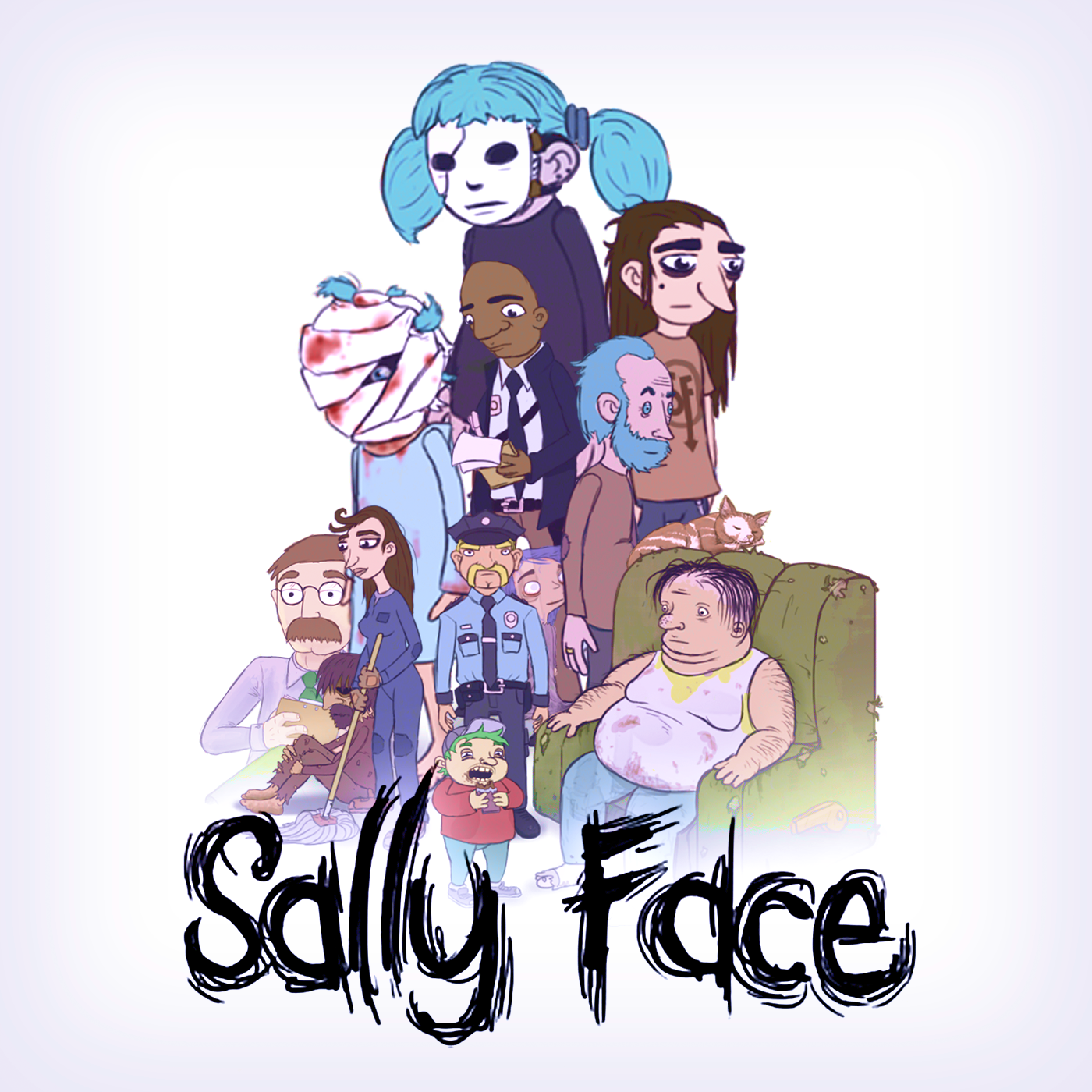 Sally face - complete game download for mac os
