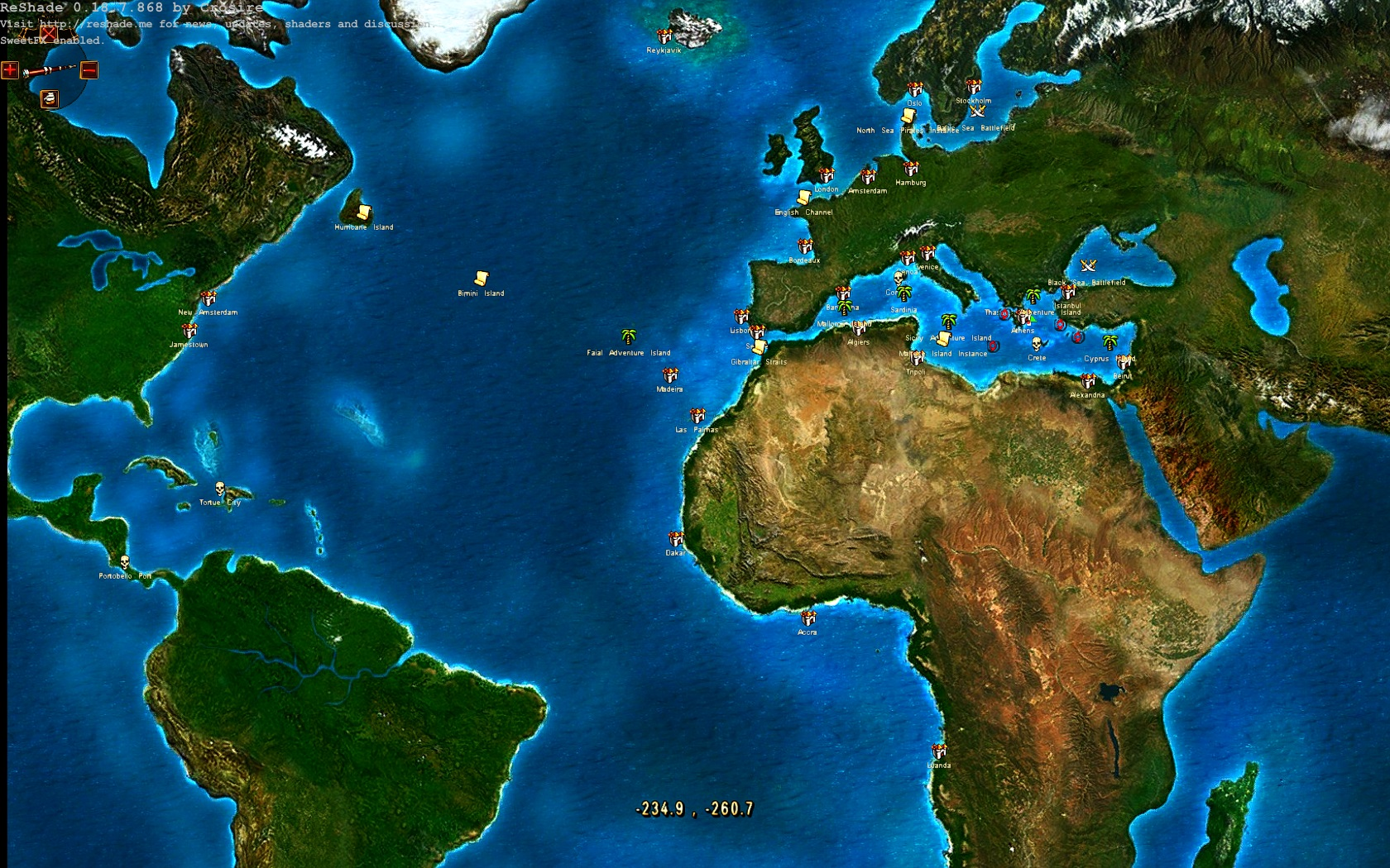 Voyage century online world map image mod db world map view original gumiabroncs Choice Image