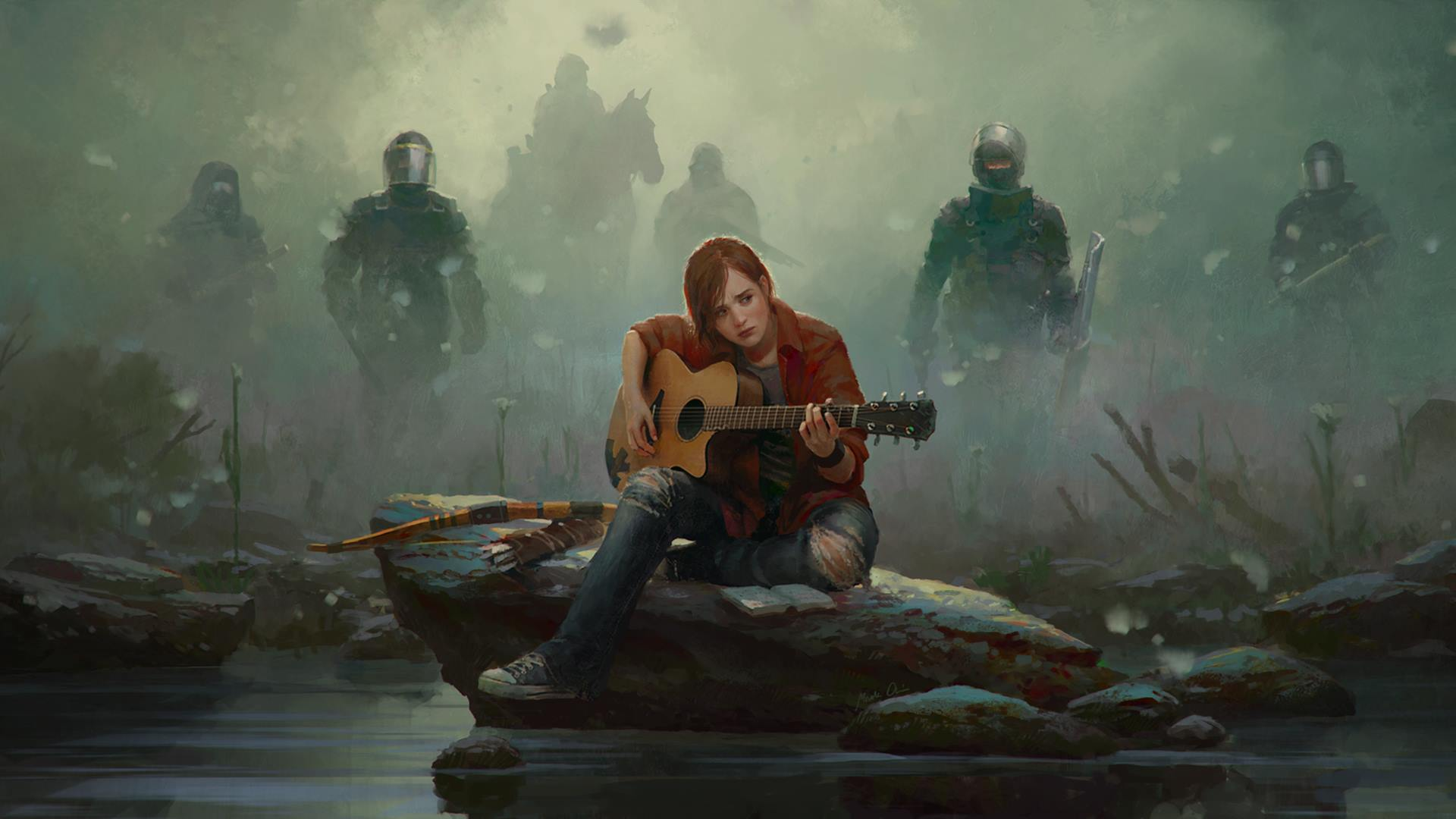 Art Wallpaper For The Last Of Us Part 2 Image Mod Db