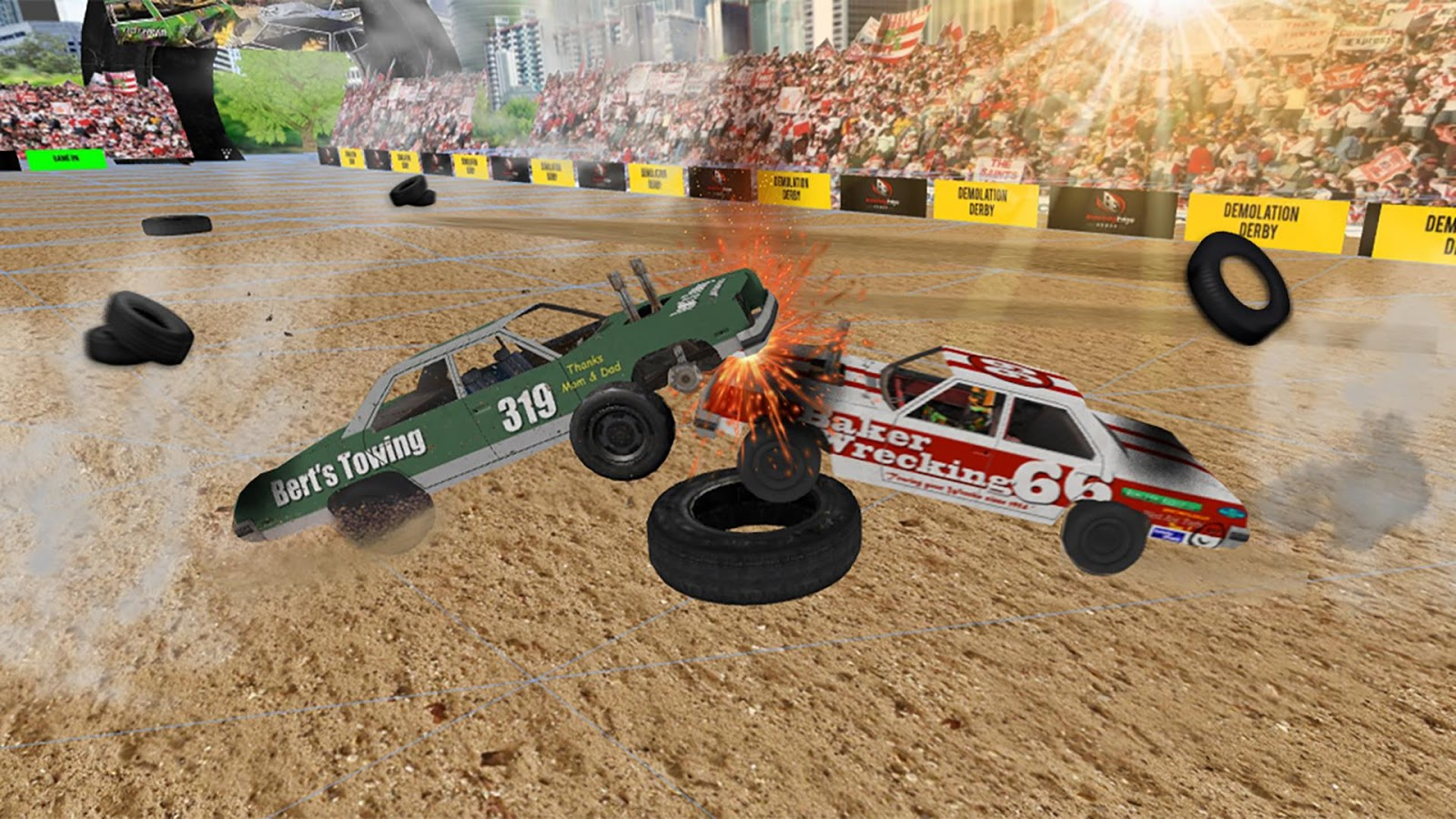 Demolition Derby Car Racing Android Game Mod Db