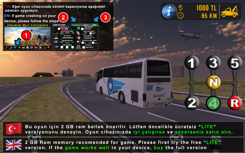Anadolu Bus Simulator Ios Android Game Mod Db