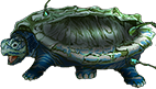 Turtloise, undersleipnir class. Half-universal biocomputer with four neurosynaptic cores.