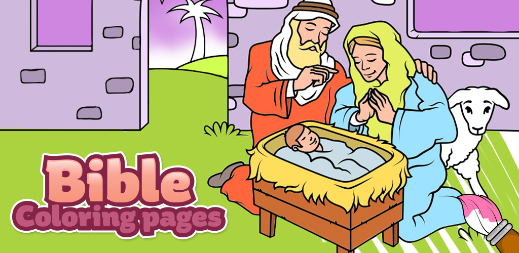 Bible coloring pages colouring games for kids ios mod db Coloring book ios