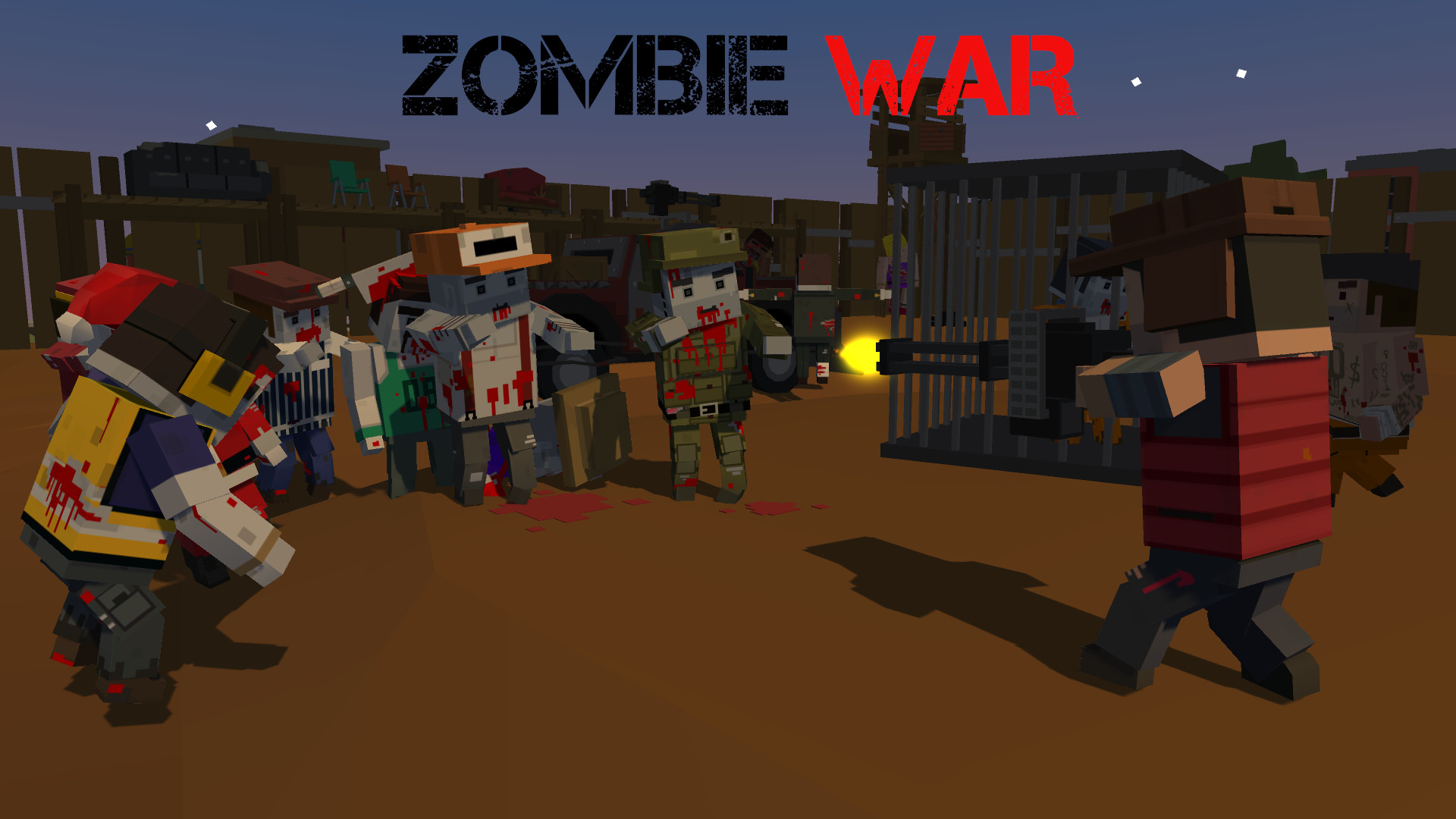 Boxhead: The Zombie Wars 3D | Action Game by MEDL Mobile ...