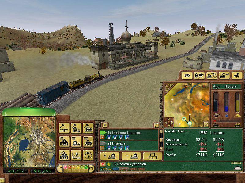 Railroad Tycoon 3 Vollversion Download