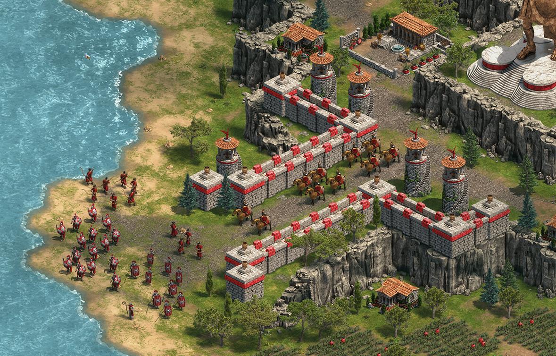 Các game thủ sẽ giao tranh tự do trong AoE DE